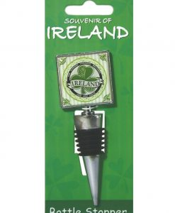 Shamrock Wine Bottle Stopper