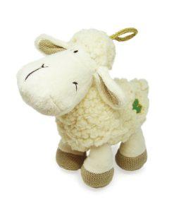 Daisy Standing Sheep W/Shamrock Logo