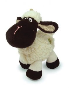 Daisy Black Face Sheep W/Shamrock Logo