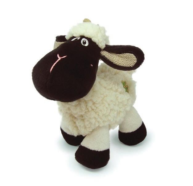 Daisy Black Face Sheep W/Shamrock Logo