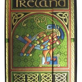 CELTIC PEACOCK NOTE BOOK