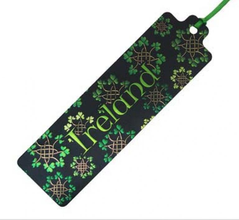 Shamrock Garlands Bookmark
