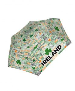 Coloured Grafitti Ireland Umbrella