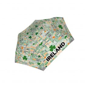 Coloured Grafitti Ireland Umbrella
