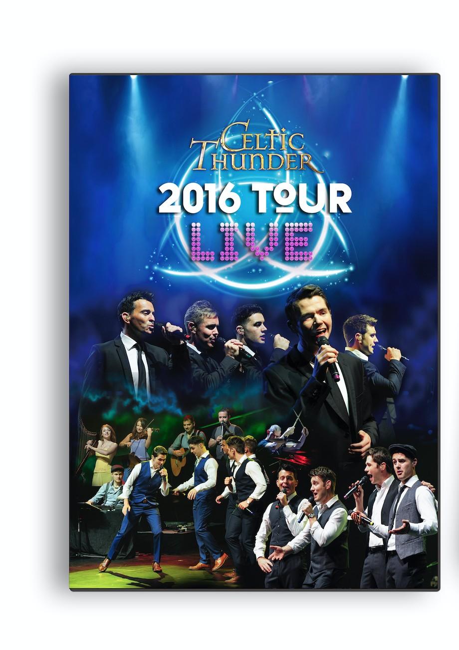 Celtic Thunder 2016 Tour Live - Dvd
