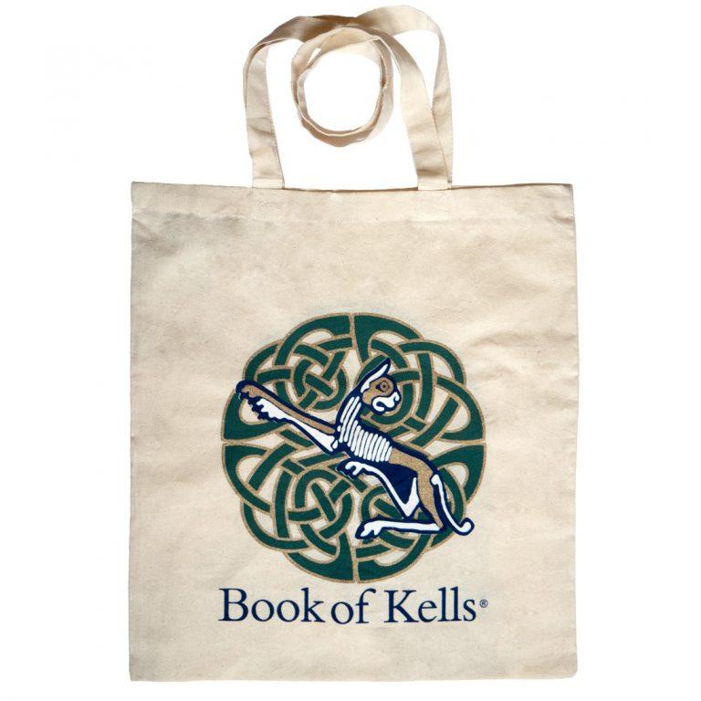 Book Of Kells Lioness Tote Bag