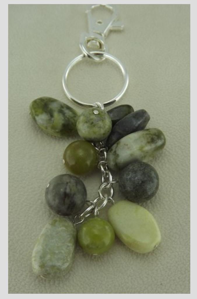 Connemara Marble Keychain