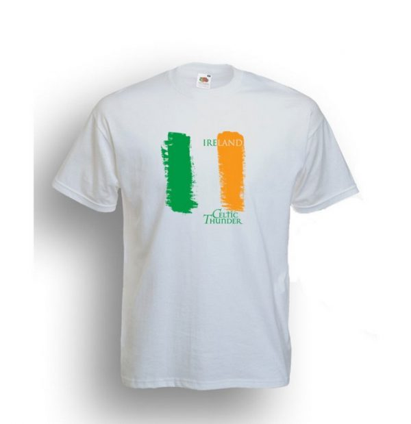 Celtic Thunder 'G Clef' Tee White
