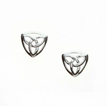 Trinity Celtic Knot Stud Earring