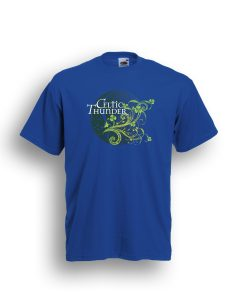 3D Filigree Dublin Blue Tee