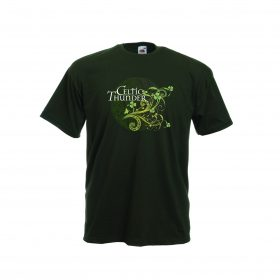 3D Filigree Irish Forest Green Tee