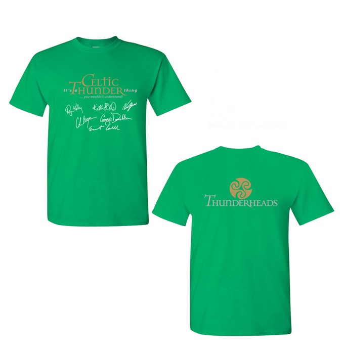 Thunderhead T-Shirt Kelly Green