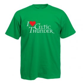 I Love Celtic Thunder T-Shirt