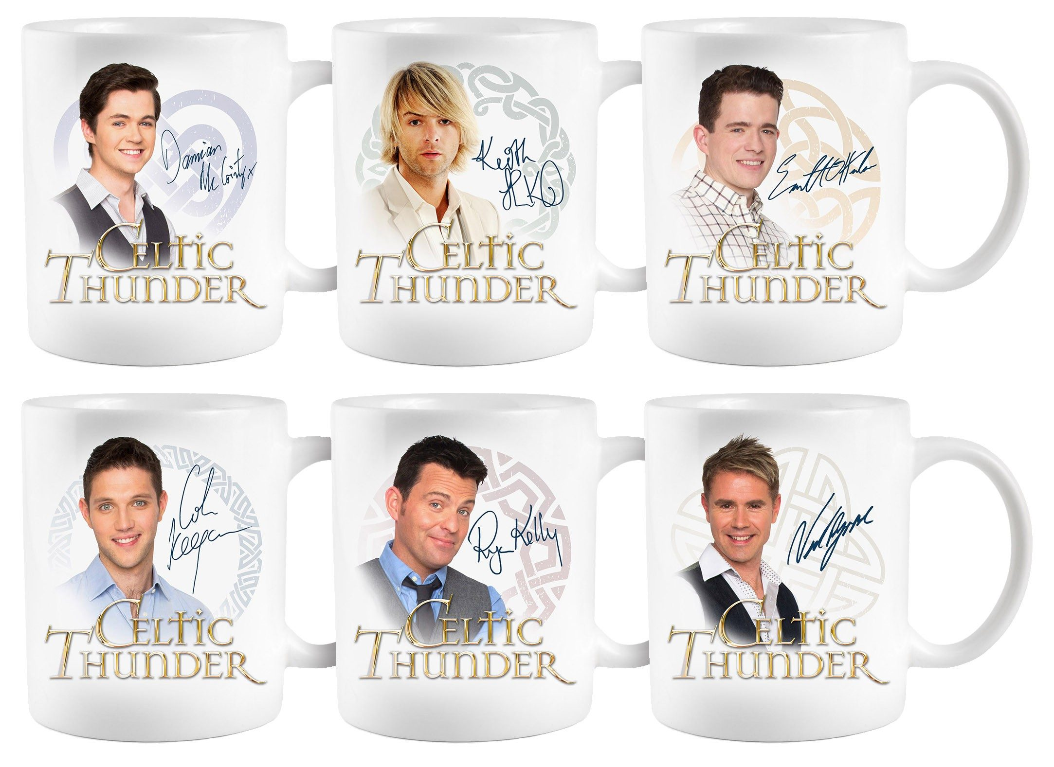 Celtic Thunder Mugs