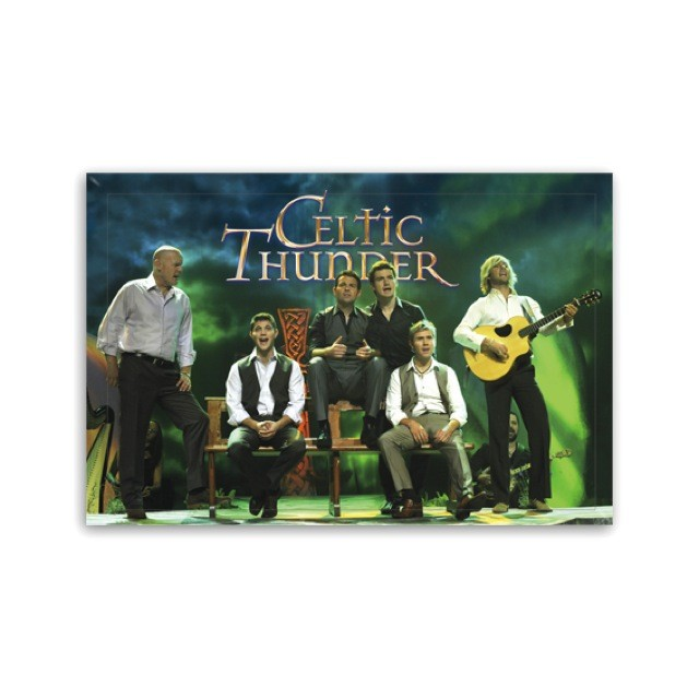 "Celtic Thunder Jumbo Magnet "" Seven Drunken Nights """