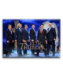 "Celtic Thunder Jumbo Magnet "" Mythology """