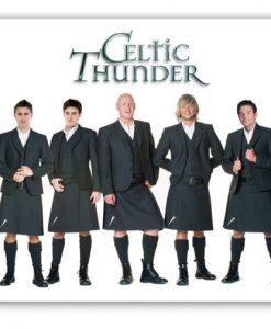 Celtic Thunder Kilts Mouse Mat