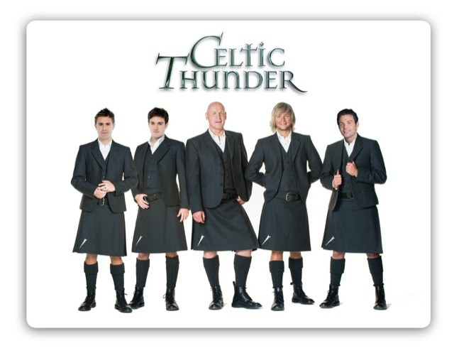 Celtic Thunder Kilts Mouse Mat