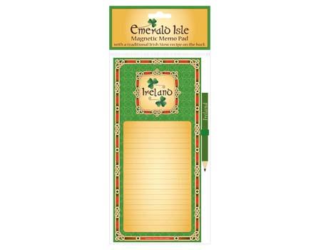 free ireland magnetic fridge memo pad free celtic thunder store
