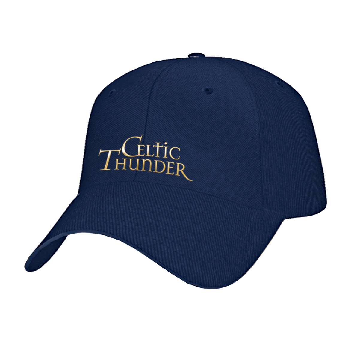 Navy Celtic Thunder Gold Embroidered Baseball Cap – Celtic Thunder Store 060e5aa03fd