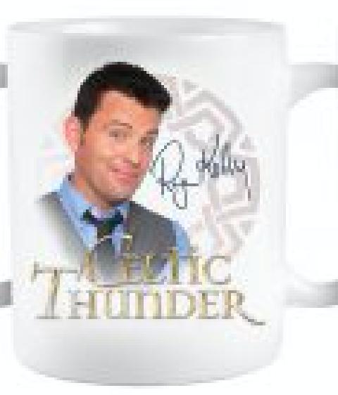 Celtic Thunder Vintage Ryan Kelly Signed Mug