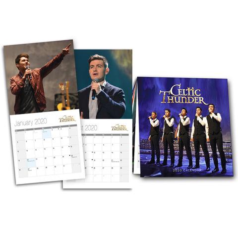 Celtic Thunder Tour 2020.Celtic Thunder 2020 Calendar W T Special Fan Memories